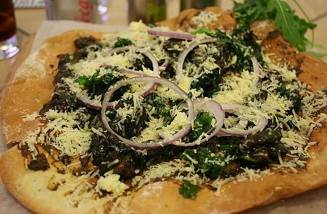 Wild Truffled Mushroom Skinny Pizza