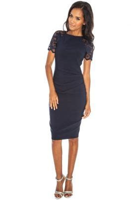 Navy wedding guest dress