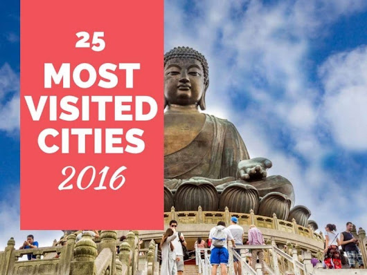 25 most popular cities that were well liked amongst travellers in 2016