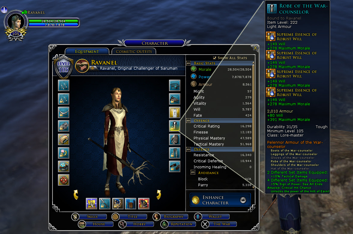 Best Crafted Gear For A Ret Pally At