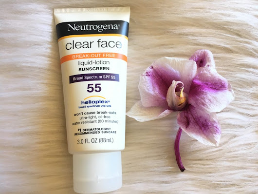 Neutrogena Clear Face Sunscreen | Berry Beautiful
