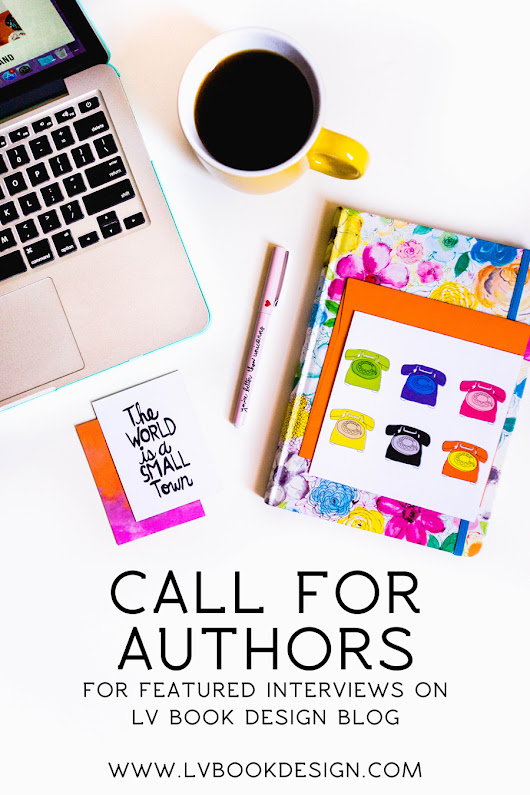 Want to be interviewed? Open call to authors!