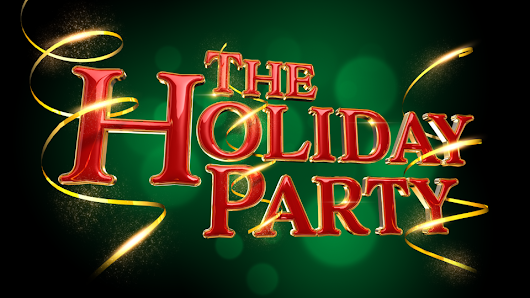 Holly Jolly 3D Holiday Text Design