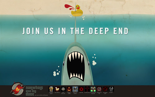 Narwhals Ate My Duck: Recruitment Wallpaper