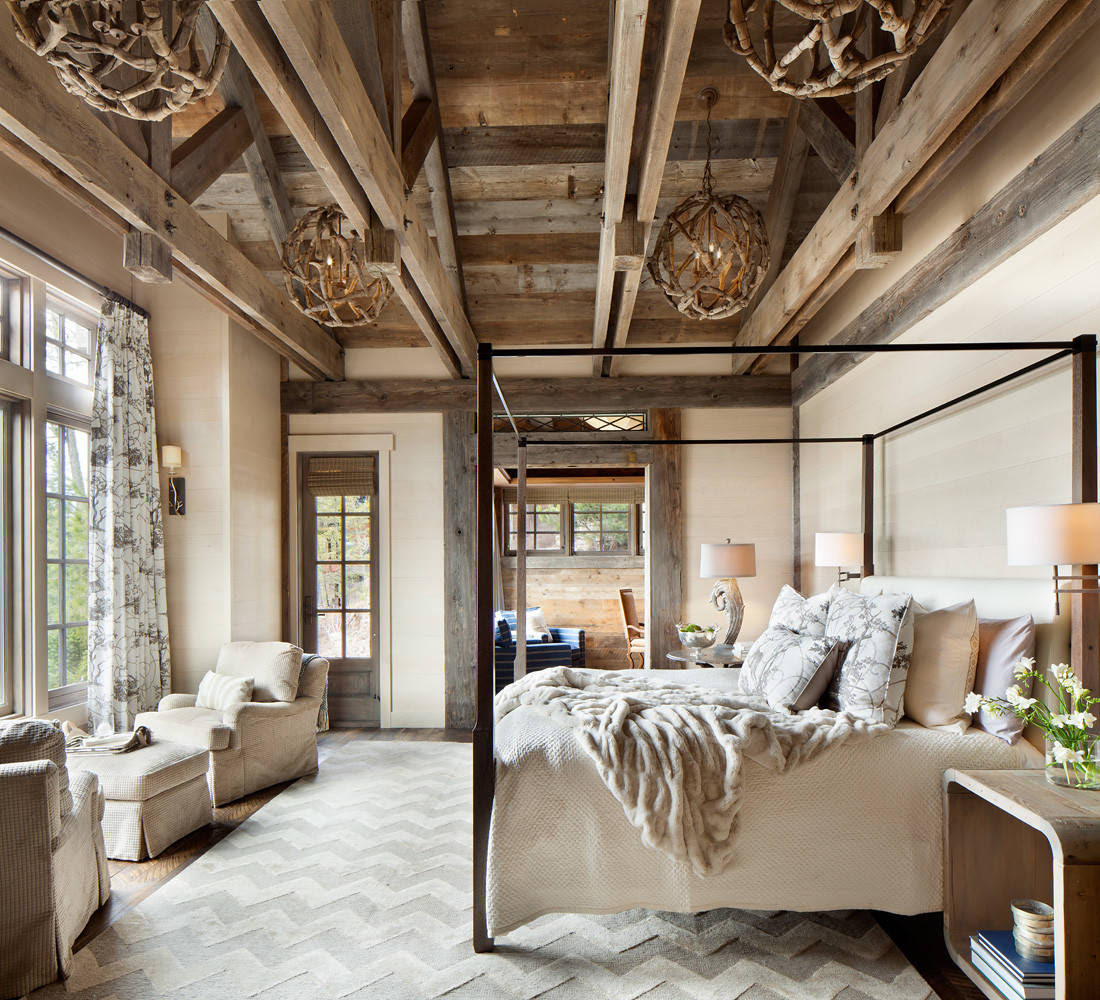 15 Wicked Rustic Bedroom Designs That Will Make You Want Them