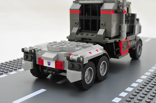KRE-O Megatron - rear details