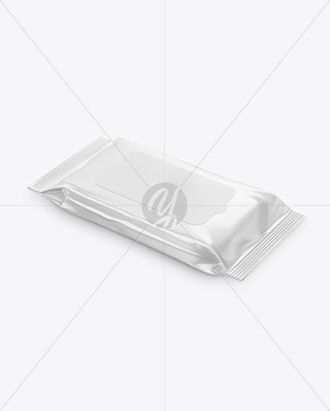 Download Wet Wipes Pack Mockup Psd