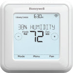 Honeywell Home - RCHT8600 Series Smart Programmable Touch-Screen Z-Wave Thermostat - White