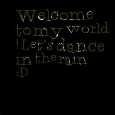 Lets Dance In The Rain Quotes