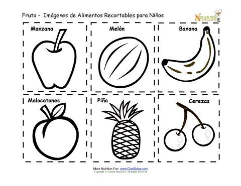 Recortables Imprimibles De Tarjetas De Memoria De Alimentos De