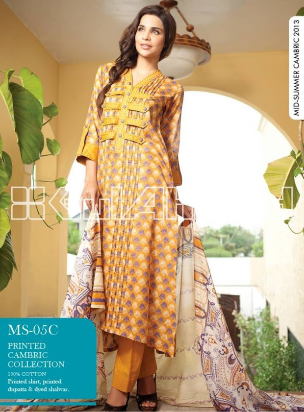 Mid-Summer-Cambric-Collection-2013-Gul-Ahmed-Printed-Embroidered-Fashionable-Dress-for-Girls-Women-24