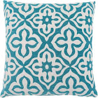 Monarch Specialties Teal Motif Design Pillow