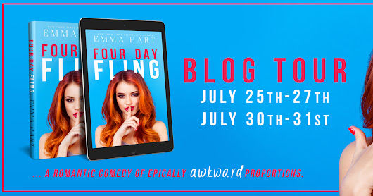 Blog Tour/Review ♥ Four Day Fling by Emma Hart ♥