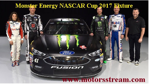 Monster Energy NASCAR Cup 2017 Fixture