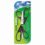 Westcott KleenEarth All-Purpose Scissors, Size: 8', Black