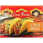 Casa Fiesta - Taco Shells 12 Shells Box - Case Of 12-4.6 Oz