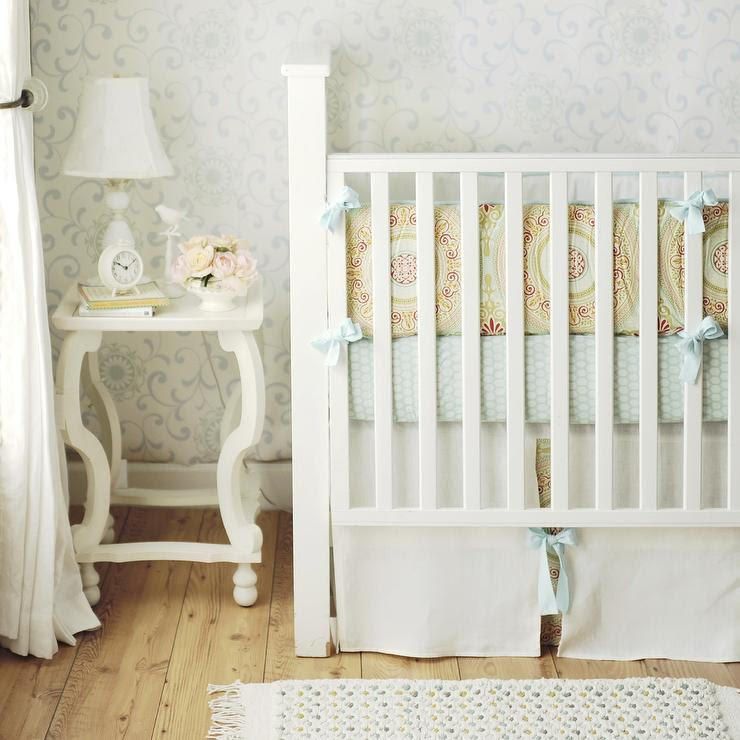 Yellow and Blue Crib Bedding - Cottage - nursery - New Arrivals Inc