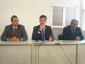 Coletiva Secretaria de Segurança, MA (Foto: Igor Almeida/G1)