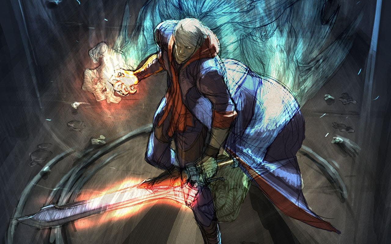Devil May Cry Artwork 1280x800 Wallpaper High Quality Wallpapers