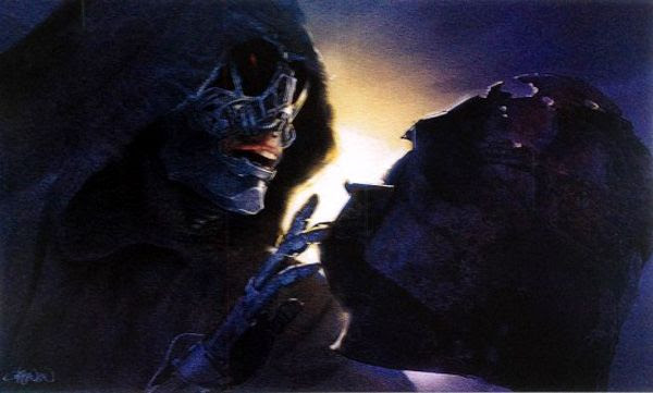 Another concept artwork featuring a character nicknamed the Grave Robber in STAR WARS: EPISODE VII.