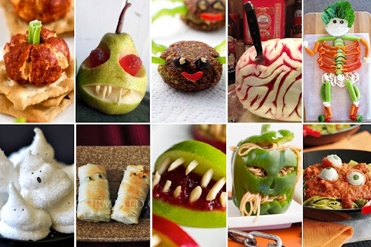 10 Best Spooky Vegetarian & Vegan Halloween Recipes - The Flexitarian
