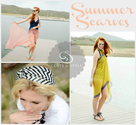 Fashion Friday- 6/7/13- Summer Scarves Starting at $5.85, Most under $11.00 Shipped.