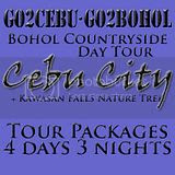 Cebu City + Kawasan Falls Nature Trek + Bohol Countryside Day Tour Itinerary 4 Days 3 Nights Package