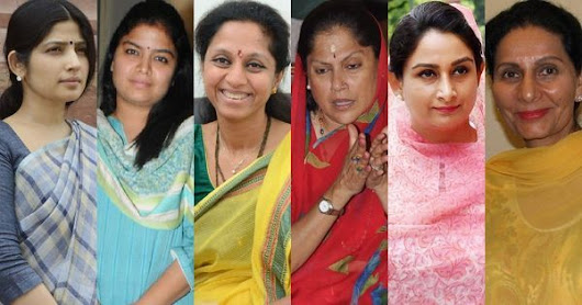 No reservations: Political dynasties have helped boost women's representation in Lok Sabha
