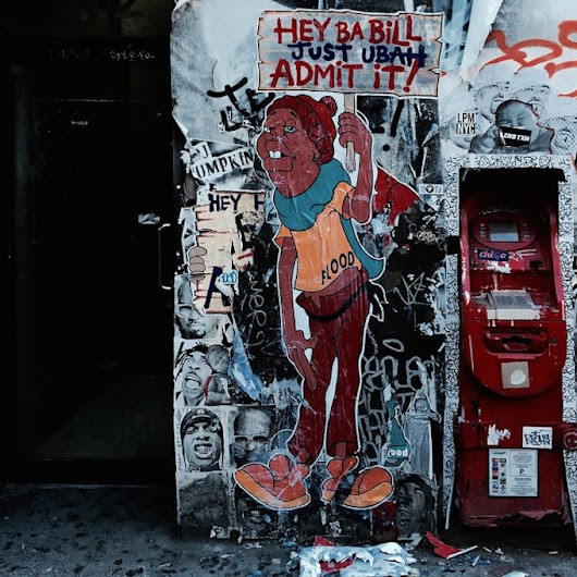 "Street Artist FLOOD Uses Another ""Fat Albert"" Character to Send a Message to Bill Cosby 