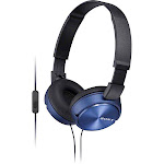Sony MDRZX310AP-L Zx Series Headband Stereo Headset - Blue