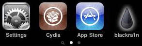 blackra1n cydia installed