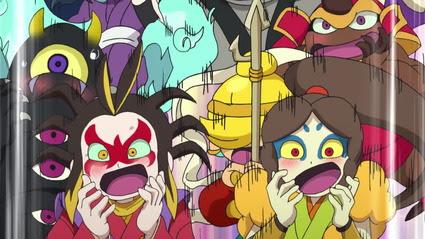 アニメ妖怪ウォッチ第209話 感想 Part3 妖怪大合戦 土蜘蛛vs大ガマ