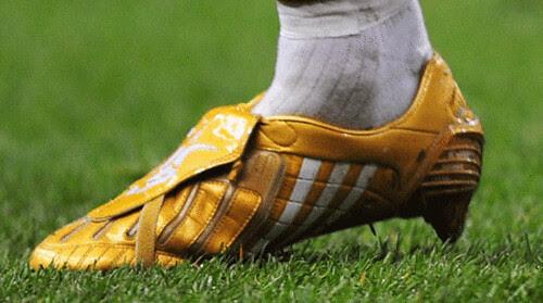 beckham-gold-boots