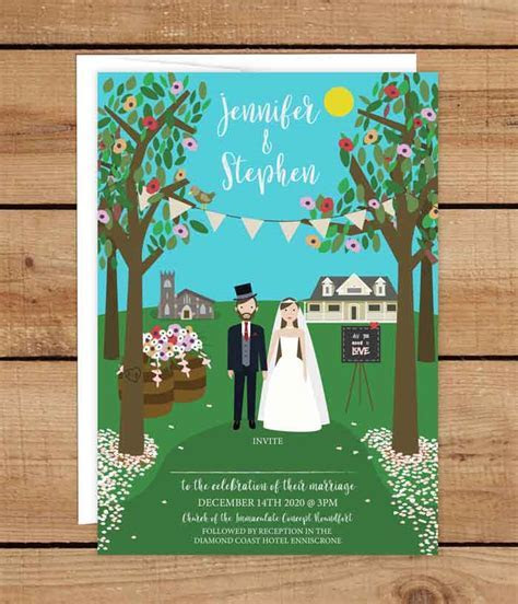 Summer Wedding Invitations   Wedding Invitations Ireland