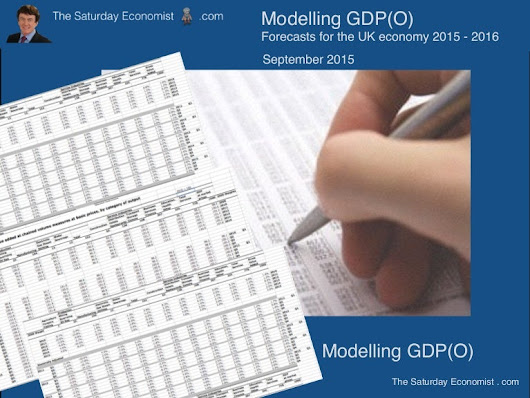 The saturday economist   modeling gdp(o) - september forecasts