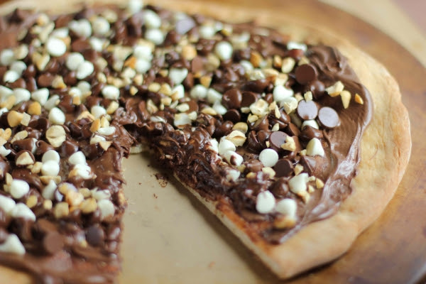 Risultati immagini per pizza nutella