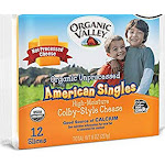 Organic Valley Unprocessed American Singles Colby-Style Cheese, 8 Ounce