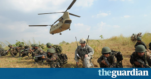 Rodrigo Duterte to end joint US and Philippine military drills | World news | The Guardian