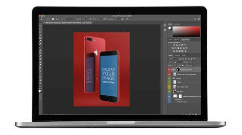red iphone  mockups  seconds placeit blog