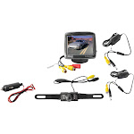 """Pyle PLCM34WIR 3.5"""" Wireless Rearview Camera & Monitor System with Night Vision"""