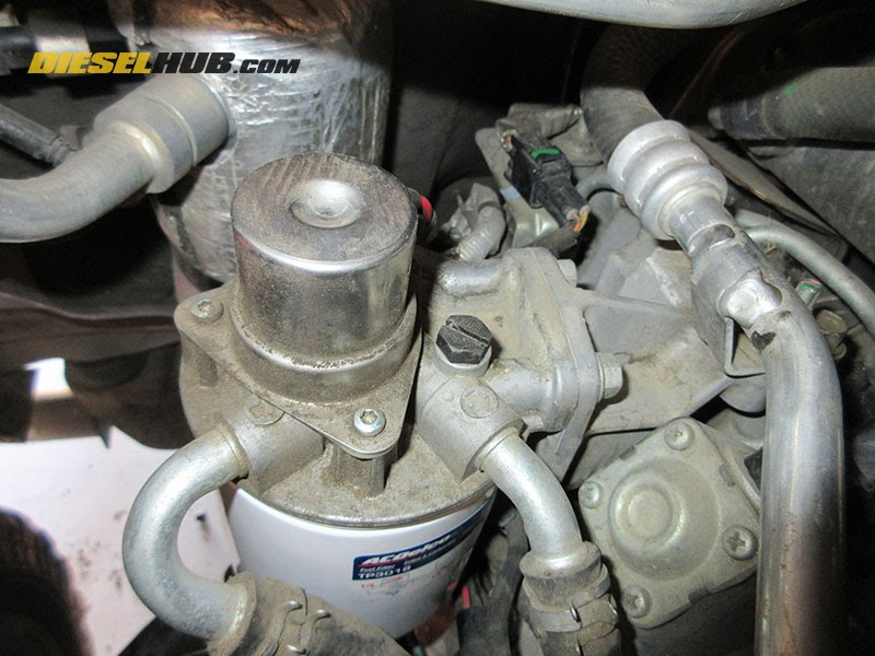 2003 Duramax Fuel Filter Head