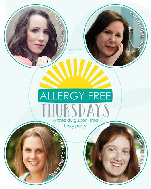 Allergy Free THURSDAYS #1?!!  A NEW Link-Up!