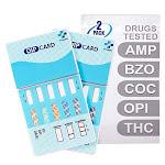 MiCare [2pk] - 5-Panel Urine Drug Test Card (AMP/BZO/COC/OPI/THC) #MI-WDOA-754 - Unlimited Cellular