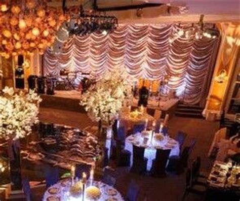 Waterfall backdrop wedding decor.   Wedding Decor