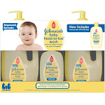 Johnson's Baby Head-To-Toe Wash (2 - 33.8 Fluid Ounce, 1 - 9 Fluid Ounce)