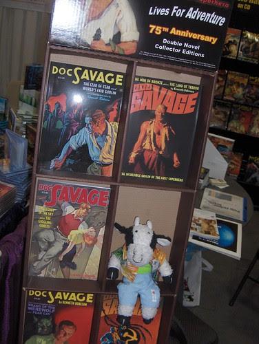 Doc Savage reissues from Nostalgia Ventures