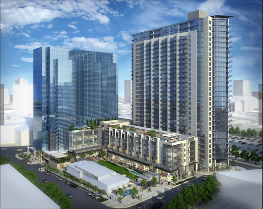 Construction Begins For The Union—Uptown's Newest Mixed-Use High-Rise