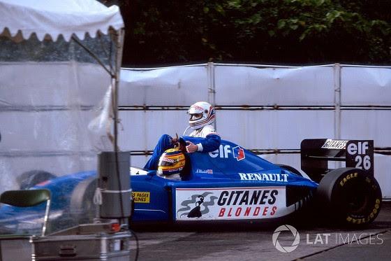 GP do Japão de 1993: o inglês Mark Blundell e o inglês Martin Brundle