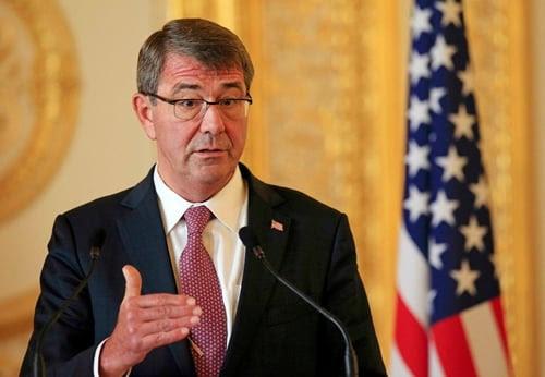 Hình ảnh Bộ trưởng Quốc phòng Mỹ khẳng định tiếp tục tuần tra Biển Đông số 1