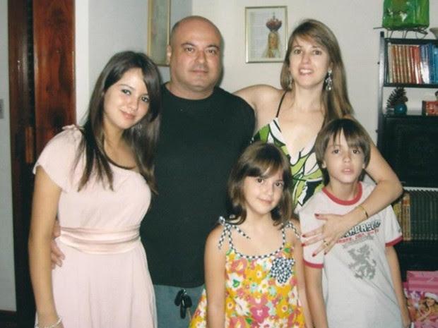 Família de Allana Moraes, Goiânia, Goiás (Foto: Arquivo pessoal/ Frank Moraes)